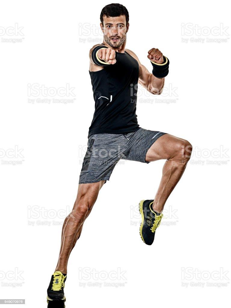 Isolés De Exercices Cardio Boxe Homme Fitness vmwy8nON0
