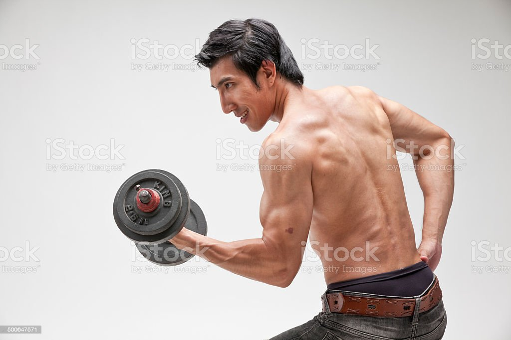 fitness man stock photo