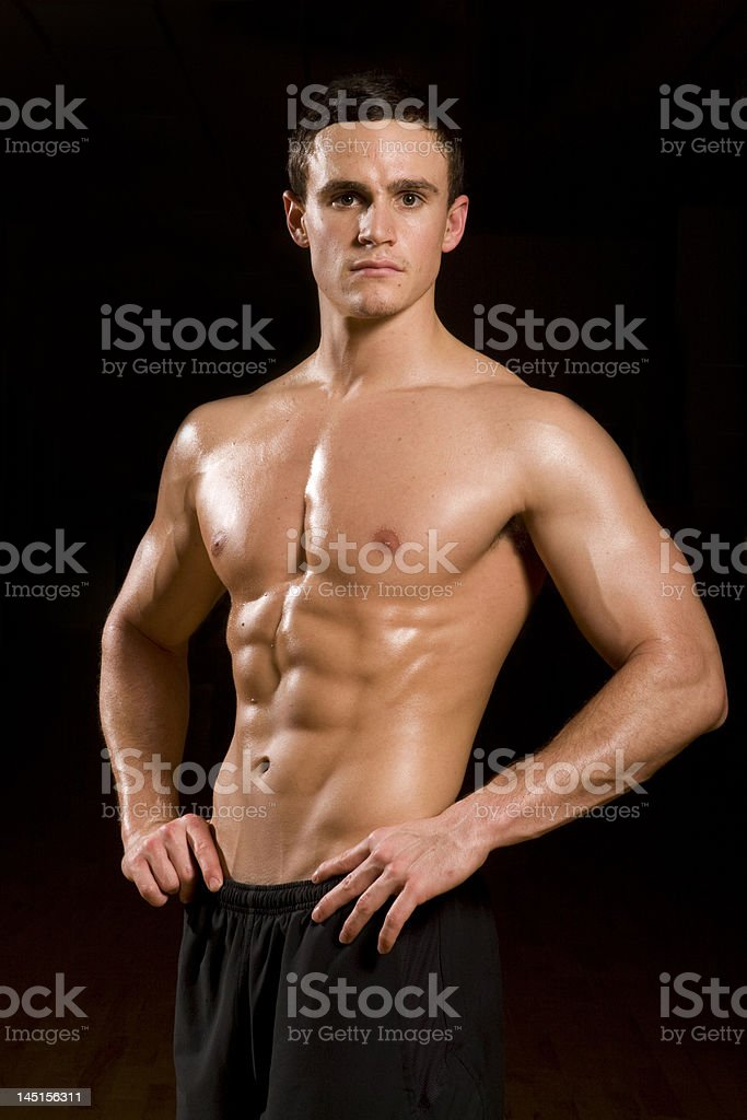 Fitness Model royalty-free stock photo