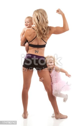 istock Fitness Mother and Child 174780742