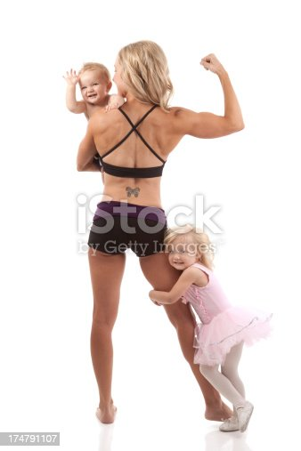 istock Fitness Mother and Child 174791107