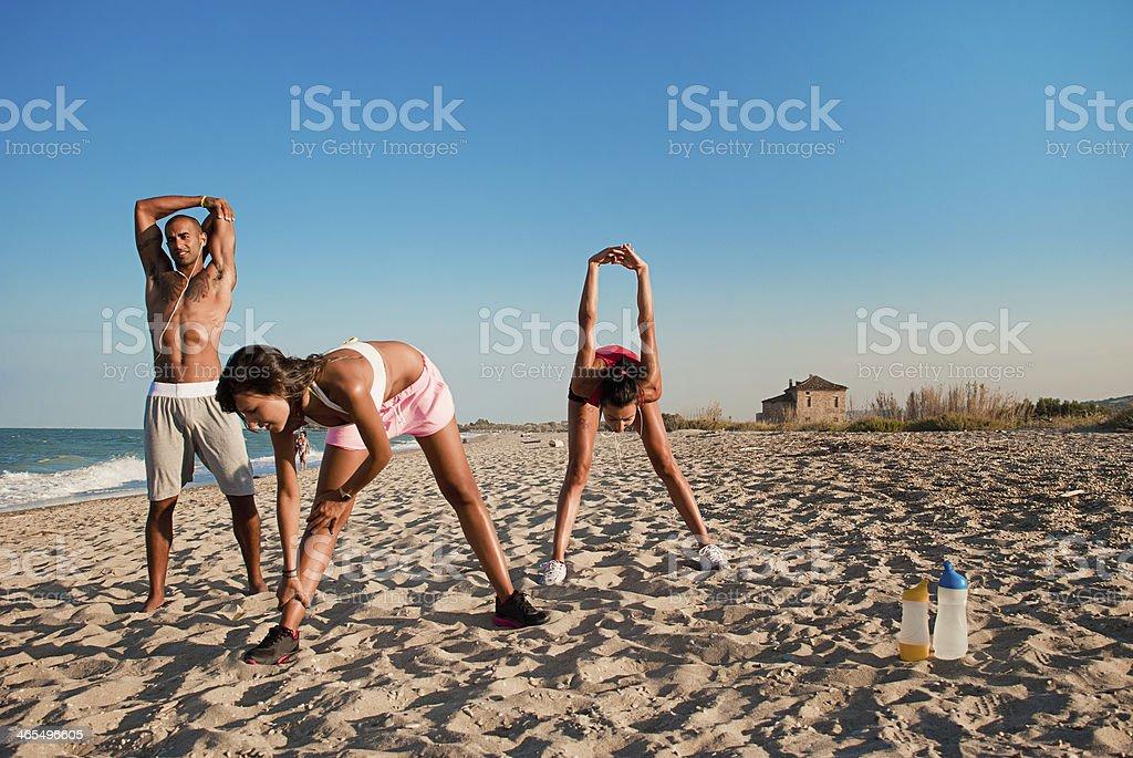 Fitness am Strand – Foto