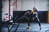istock Fitness on the ropes 658590900