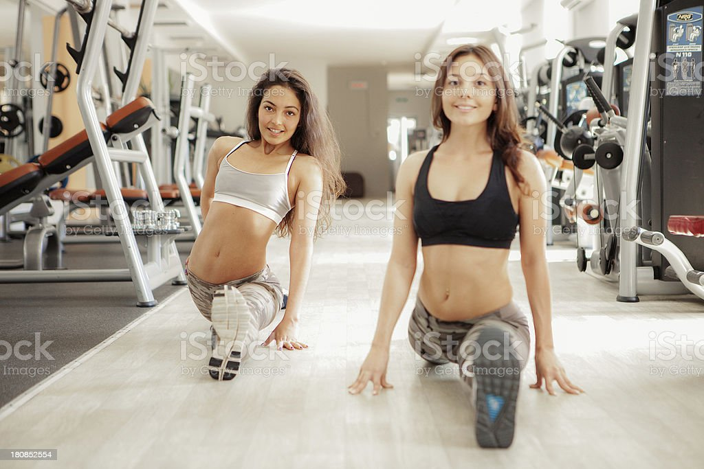 Fitness. royalty-free stock photo