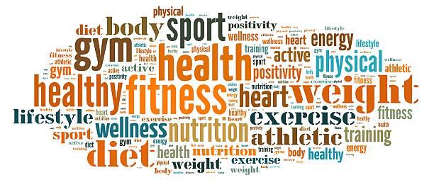 Fitness. stock photo