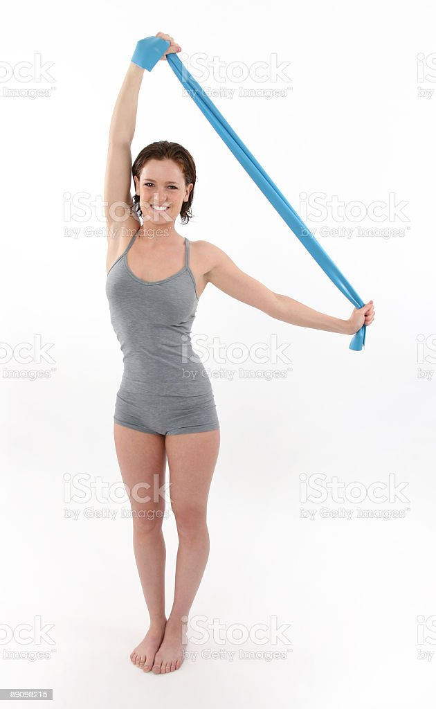 Fitness royalty free stockfoto
