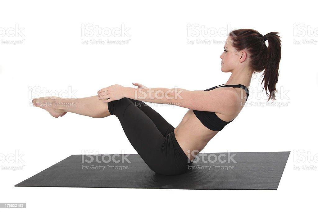 Ejercicios de Pilates - Foto de stock de Actividades y técnicas de relajación libre de derechos