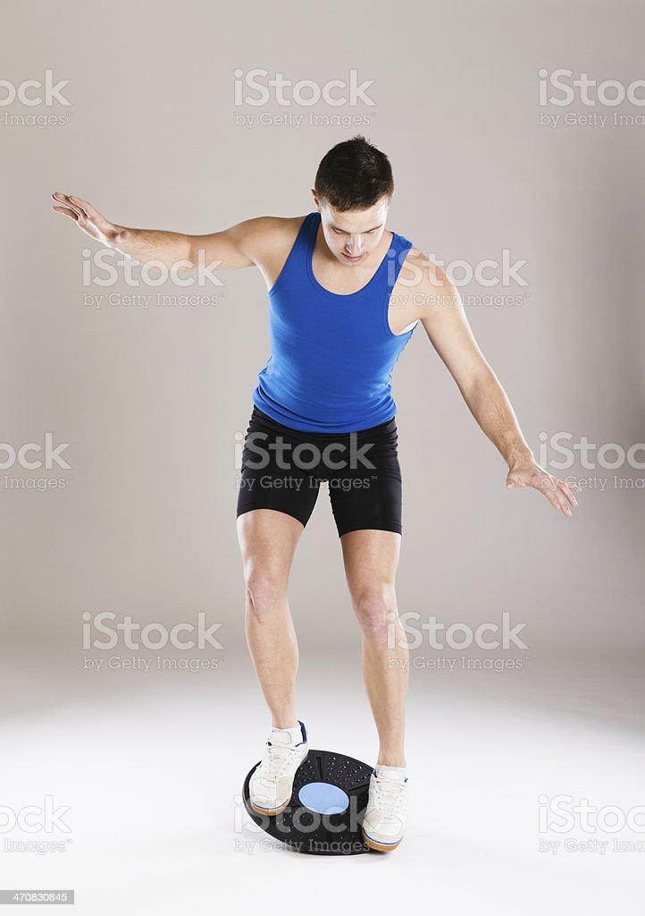 Fitness portrait royalty-free stock photo