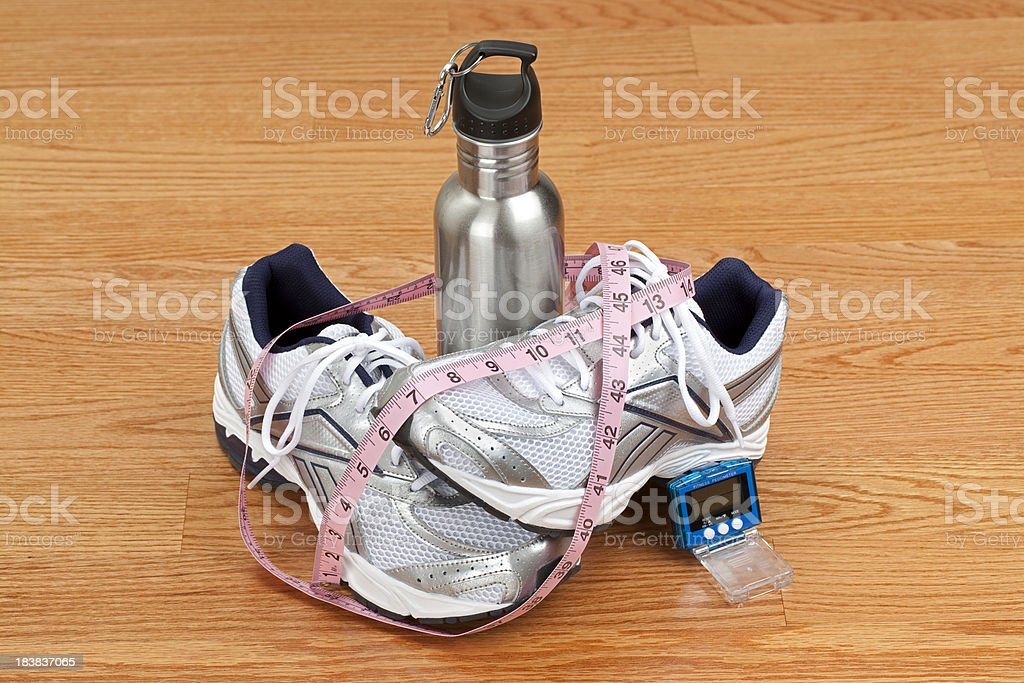 Fitness Shoes royalty-free stock photo