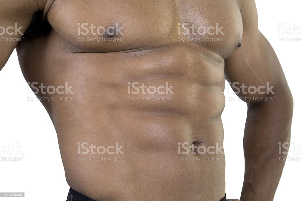 Fitness, 'Six-Pack' royalty-free stock photo
