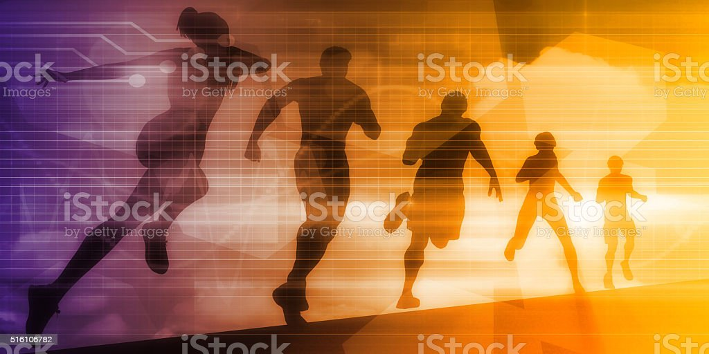 Fitness Technology stock photo
