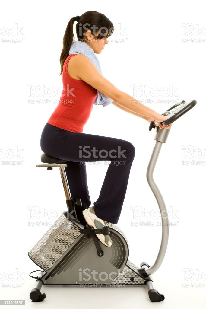 Fitness training royalty-free stock photo
