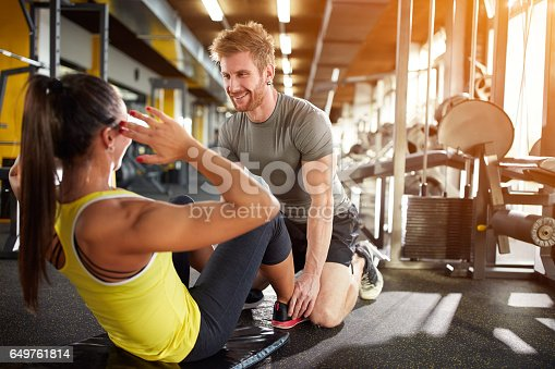 istock Fitness training 649761814