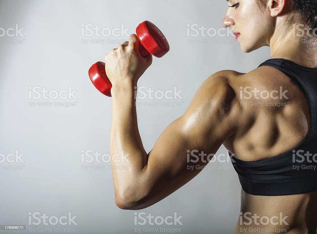 Mujer de gimnasio - Foto de stock de Actividad libre de derechos