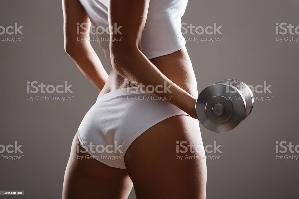 Fitness woman. stock photo
