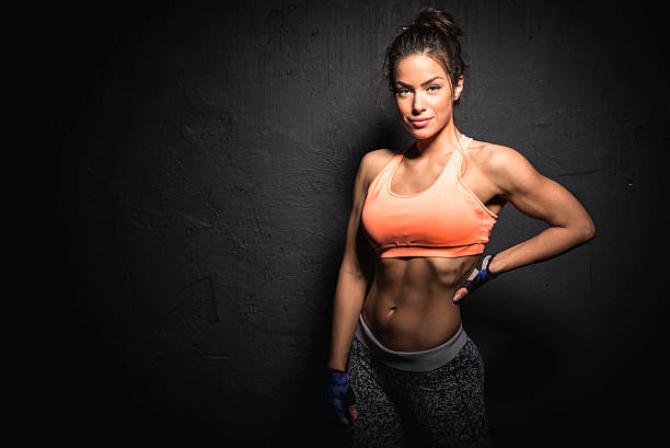 Cтоковое фото Фитнес-женщина