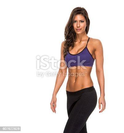 607622628 istock photo Fitness Woman 607622628