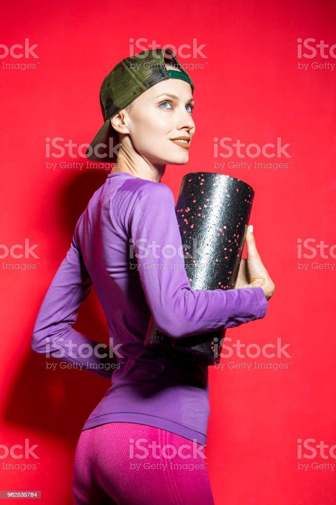 Mulher de Fitness - Foto de stock de Adulto royalty-free