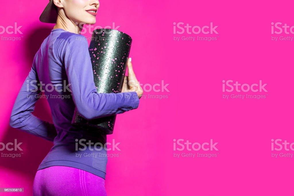 Fitness woman - Royalty-free Activity Stock Photo