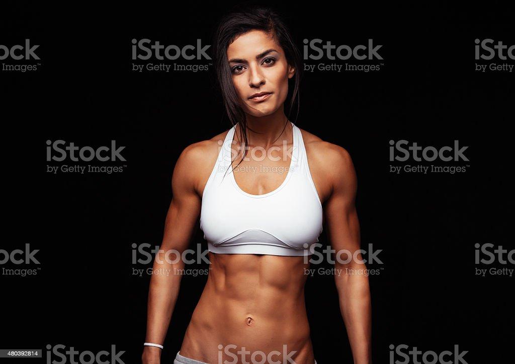 Fitness femme en soutien-gorge de sport - Photo