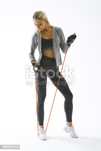 884865956 istock photo Fitness woman workout 956382578