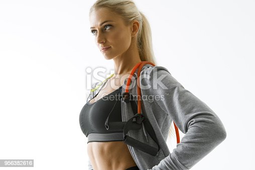 884865956 istock photo Fitness woman workout 956382616
