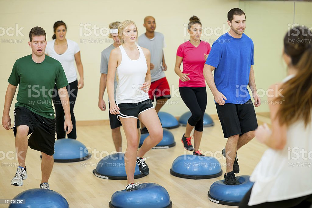 Fitness workout stock photo