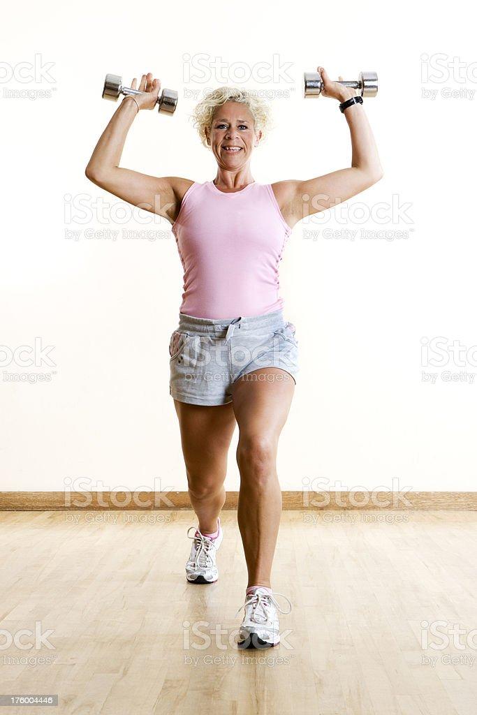 Gimnasio: De ejercicios - foto de stock