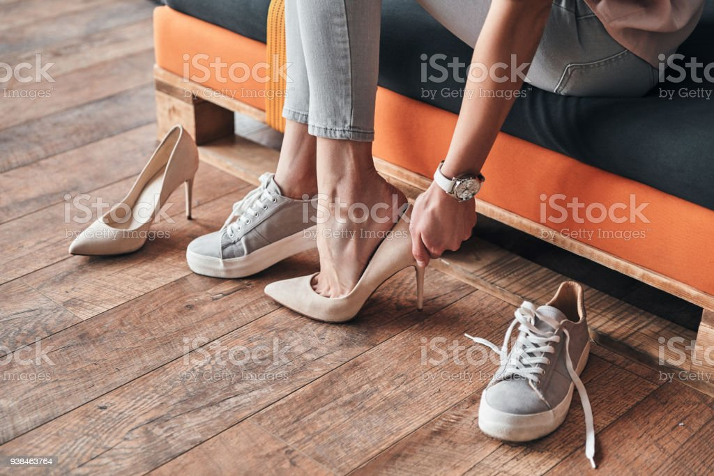 Fits perfect. stock photo