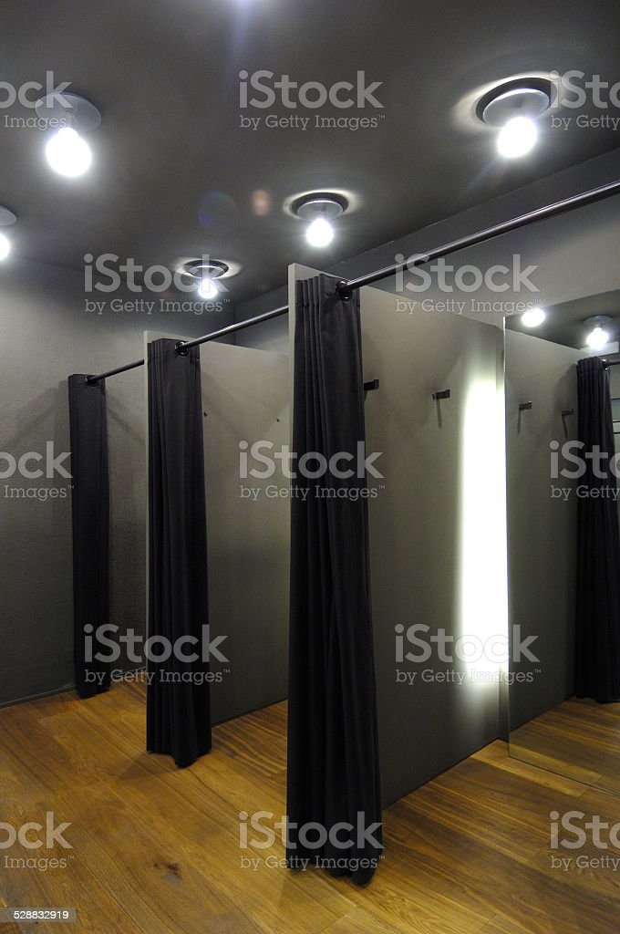 Fitting Room stock photo