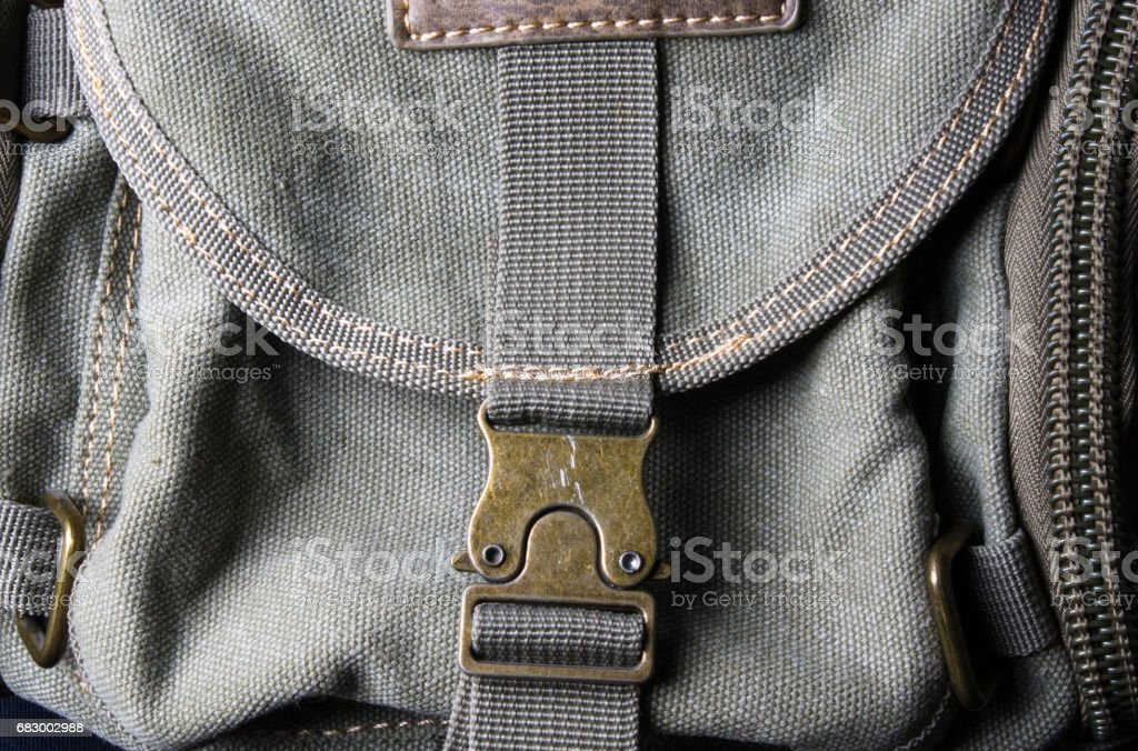 fittings and zips hand bag foto de stock royalty-free