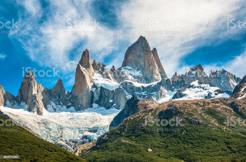 Fitz Roy Berg, El Chalten, Patagonien, Argentinien – Foto