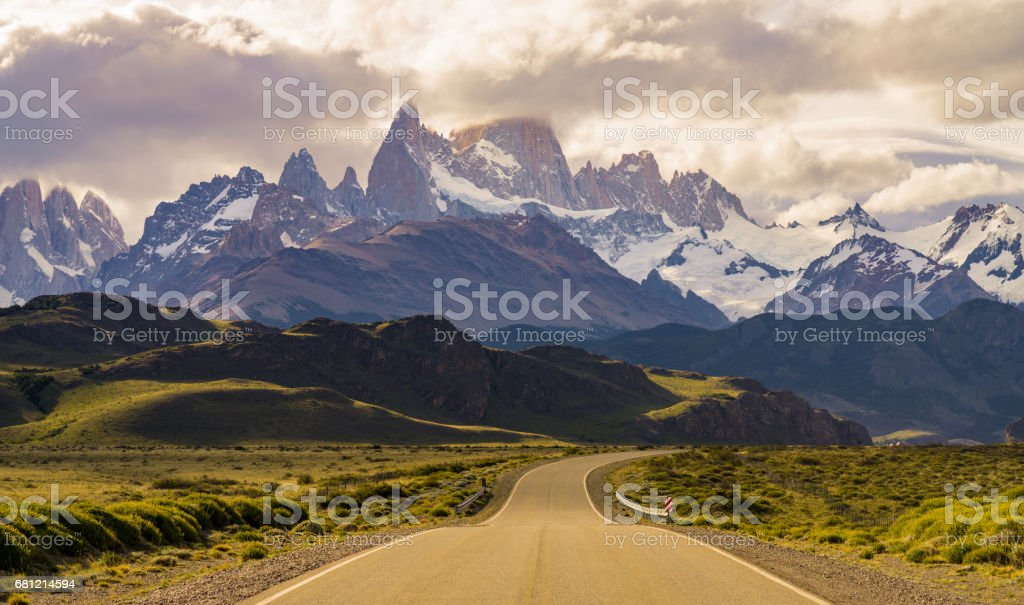 Fitz Roy road – Foto