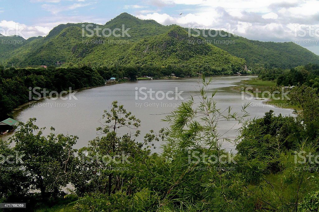 Fiume Kwai royalty-free stock photo