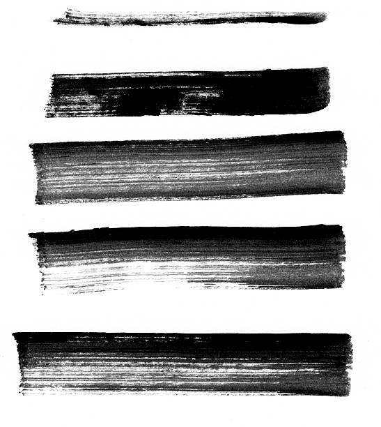 cinq mouvements de marqueur large - stylo feutre photos et images de collection