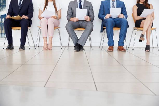 Five candidates waiting for job interviews front view crop picture id862718314?b=1&k=6&m=862718314&s=612x612&w=0&h=xcgaj1rw4qd 19aqerumeft8zfsp08cob29 1klrg w=