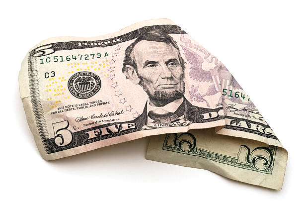 Best Five Dollar Bill Stock Photos, Pictures & Royalty-Free