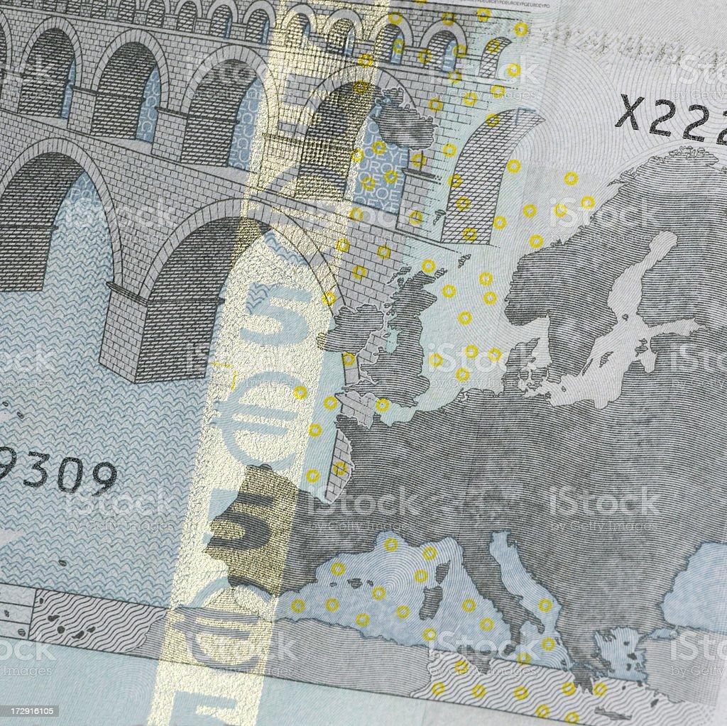 Fünfeuroschein Lizenzfreies stock-foto