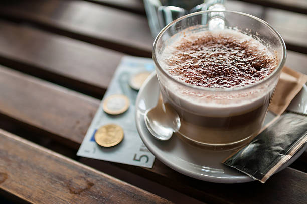 Royalty Free Euro Symbol On Coffee Pictures Images And Stock Photos