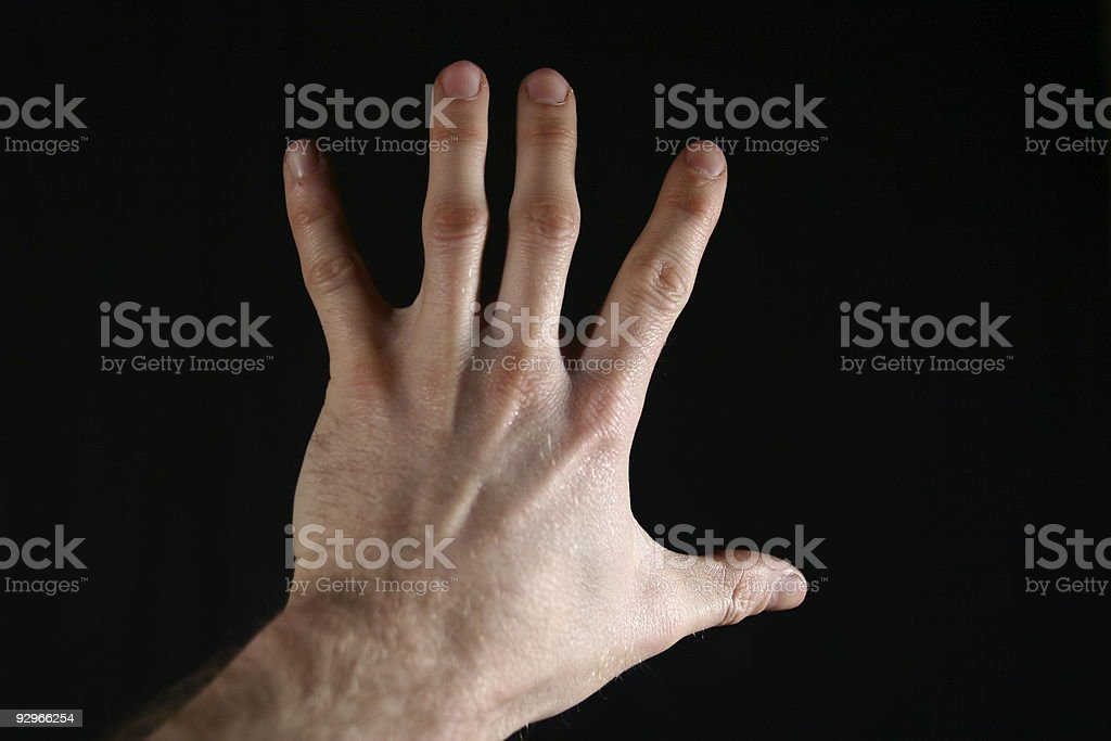 Five Finger Countdown