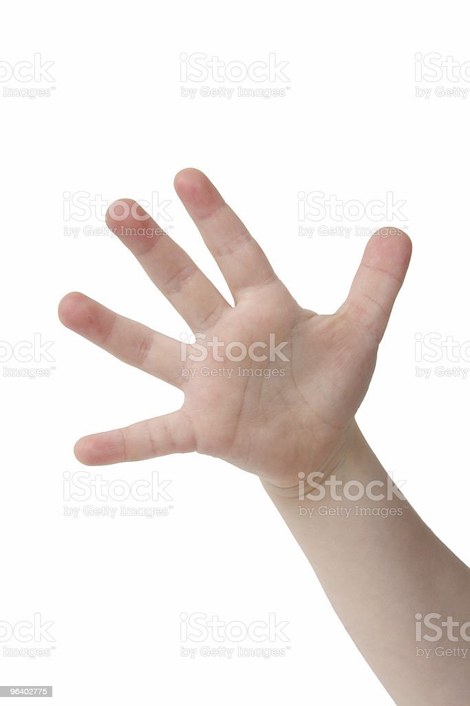Five Fingers - Royalty-free Animal Finger Stock Photo