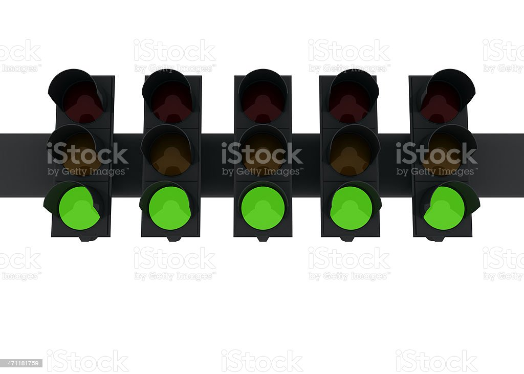 five-green-lights-picture-id471181759