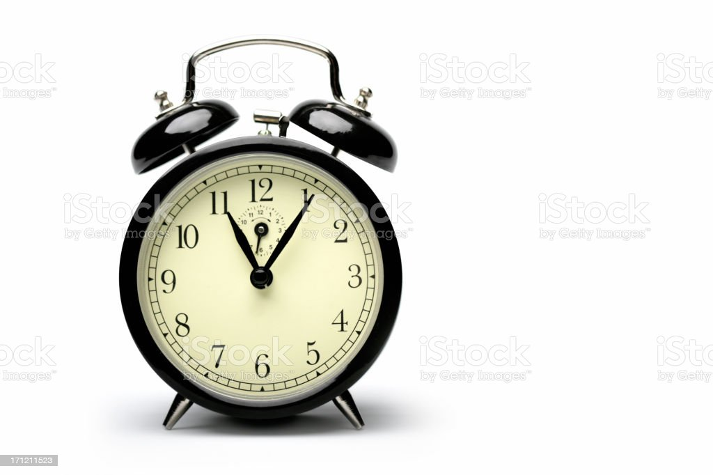 Five minutes late royalty-free stock photo