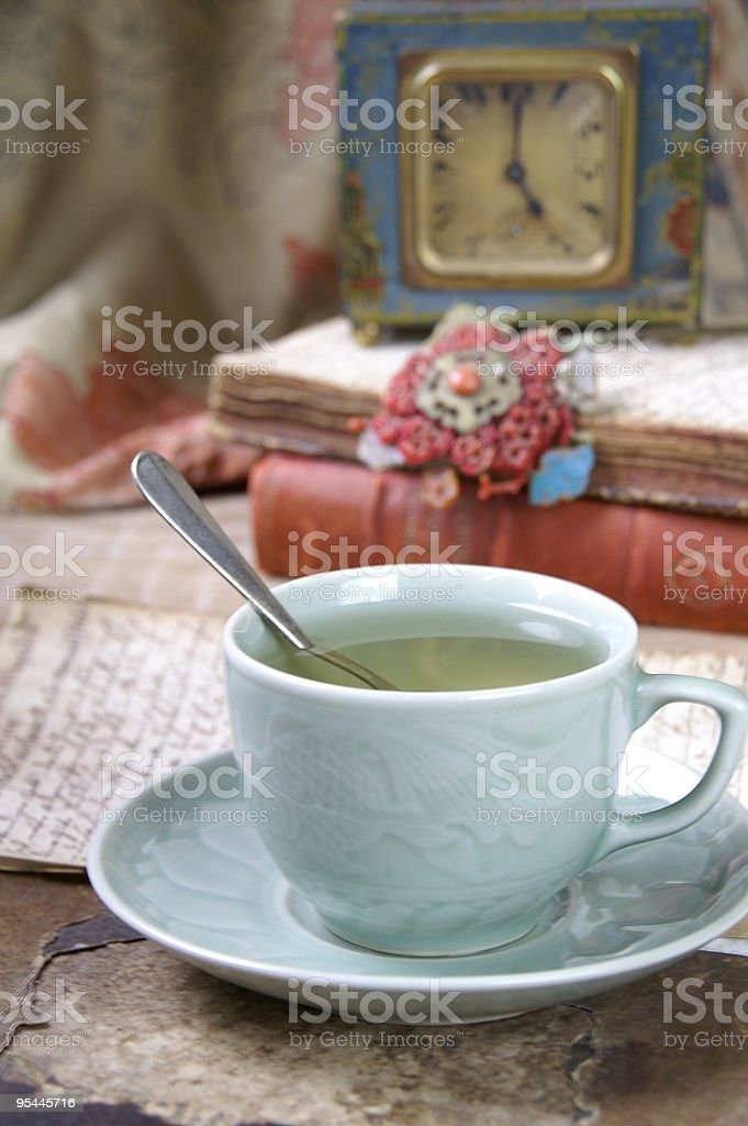 Five o' clock tea royalty-free stock photo