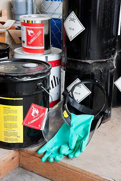 Extrem gefährliche Chemikalien Buckets – Foto