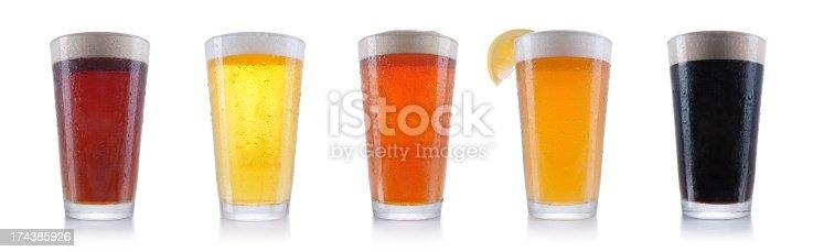 Five pints of beer.