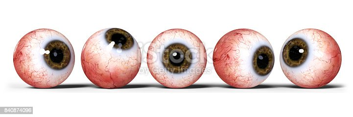 istock five realistic human eyes with brown iris, isolated on white backgroun 840874096