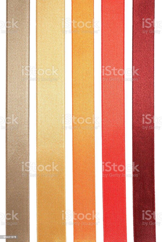 Five Ribbons stock photo