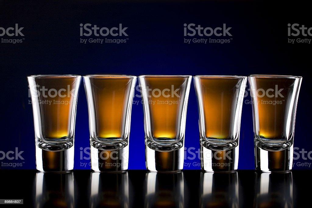 Cinco tomas gafas foto de stock libre de derechos