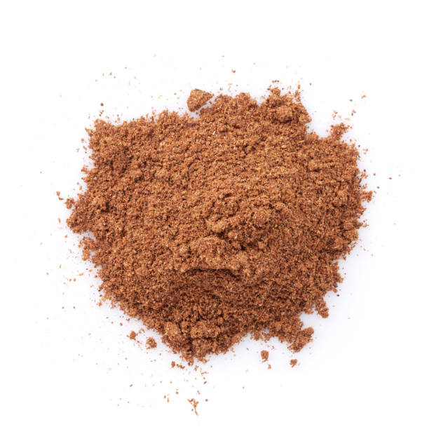 Five spice powder Five spice powder. Isolated on white background nutmeg stock pictures, royalty-free photos & images